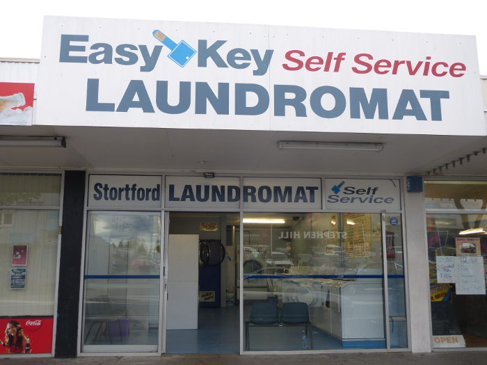 One of the Easy Key laundries