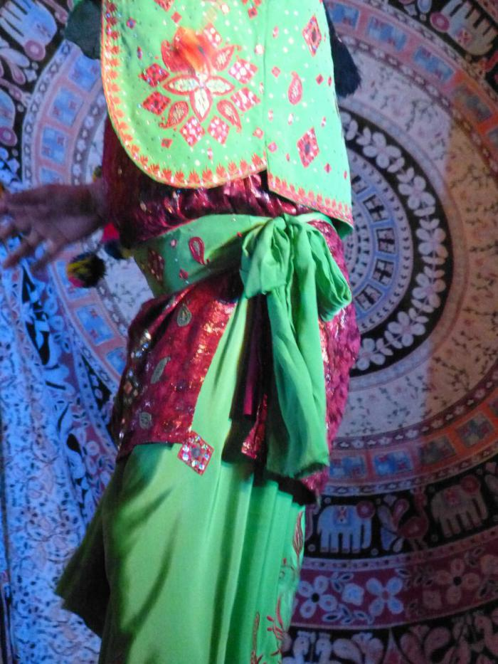 Male dancer at the Diwali Festival of Light, Napier