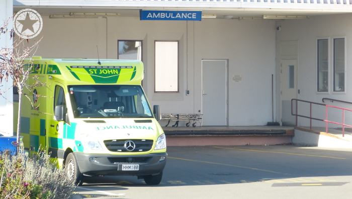 The unusual new yellow green ambulance colours