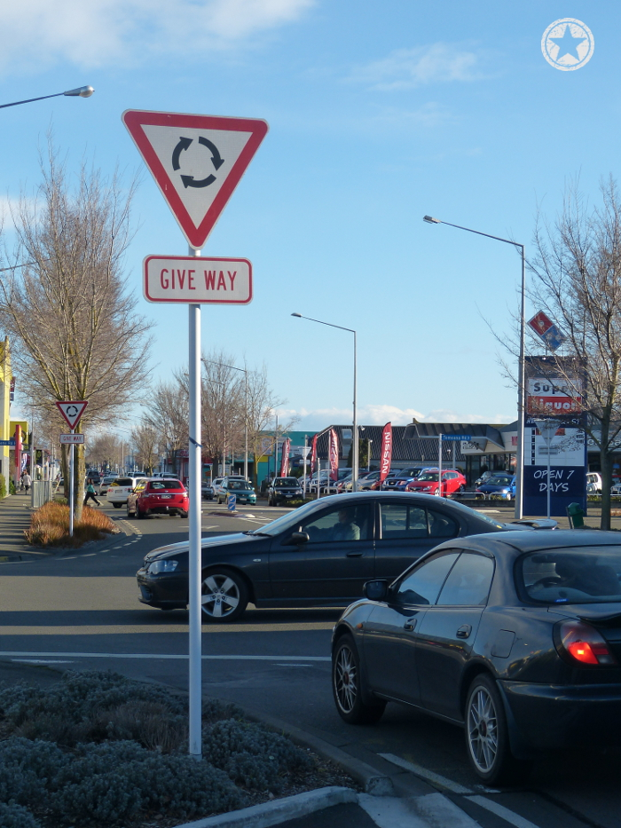 New Zealand is full of roundabouts
