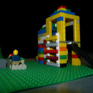 Gemma's lego home and yard